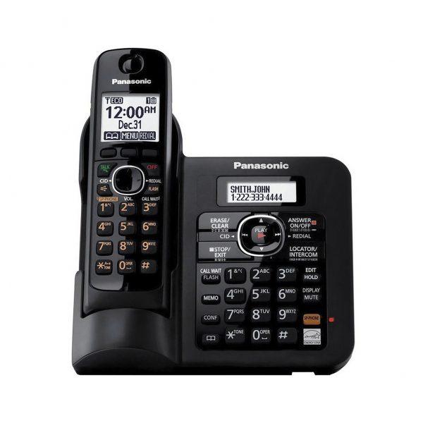 تلفن بیسیم پاناسونیک مدل Panasonic-KX-TG3821BX ساخت مالزی