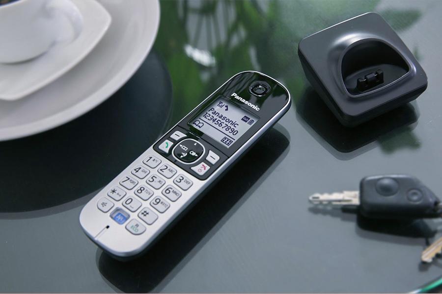نصب آسان محصول تلفن بيسيم پاناسونيک مدل KX-TG6821
