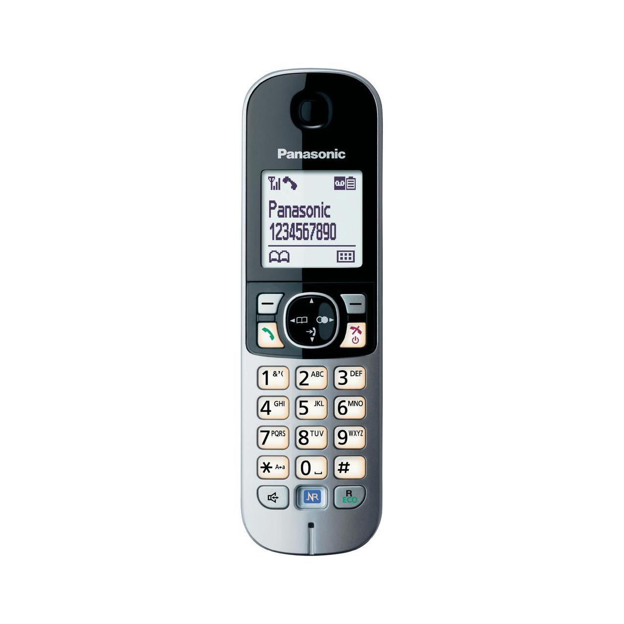 تلفن بیسیم پاناسونیک مدل Panasonic-KX-TG6821 ساخت مالزی
