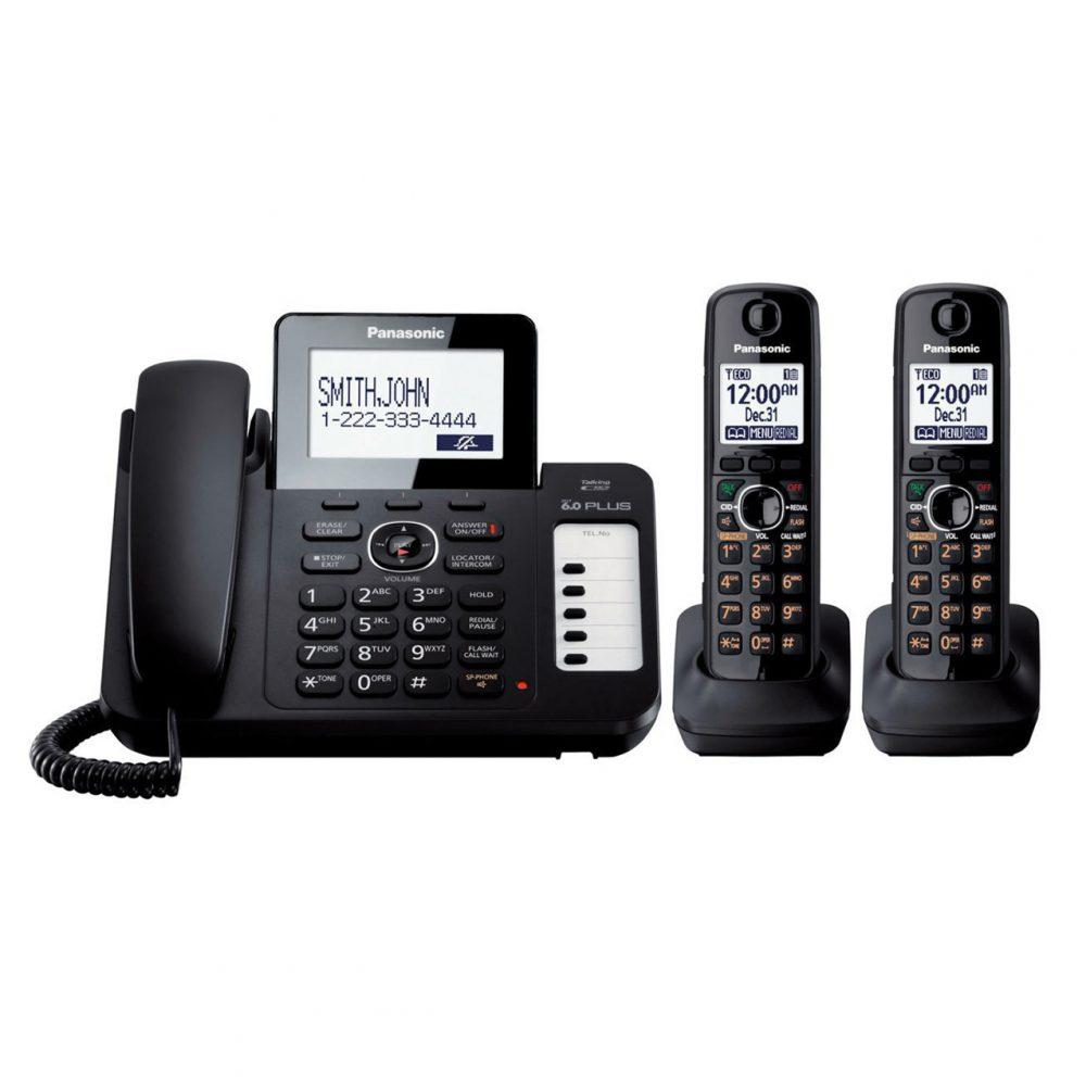تلفن بیسیم پاناسونیک Panasonic-KX-TG6672 ساخت مالزی