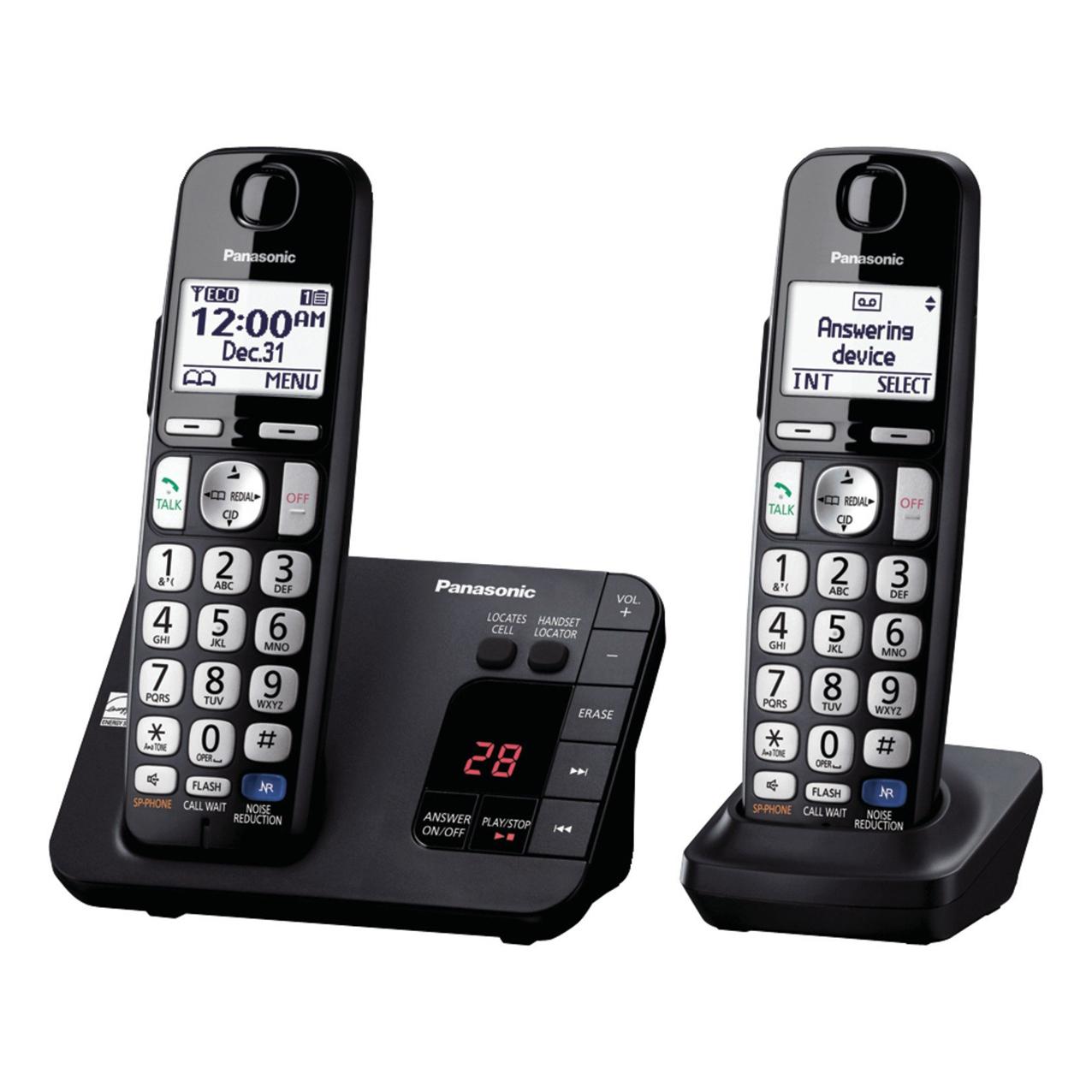 تلفن بیسیم پاناسونیک مدل Panasonic-KX-TGE262 ساخت مالزی