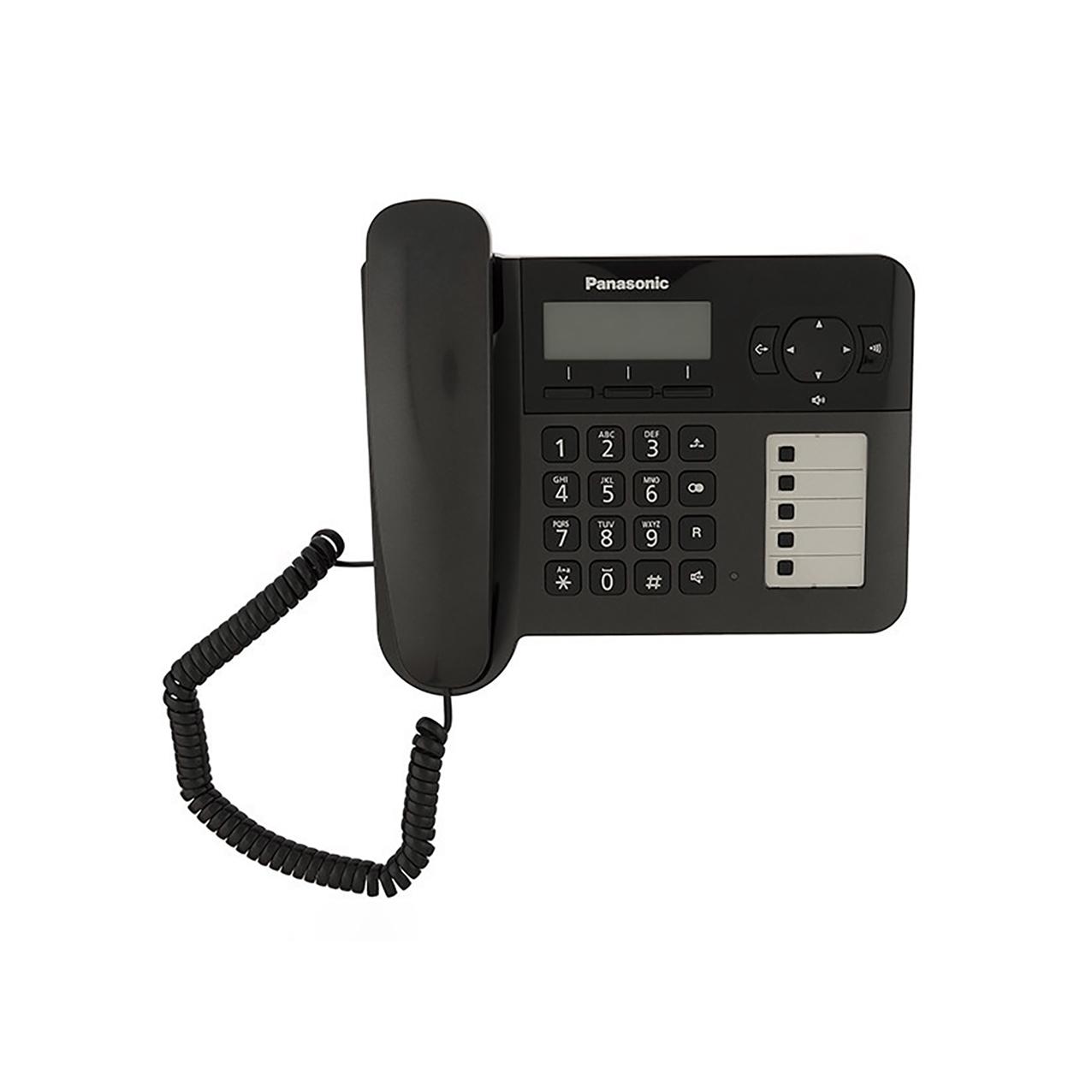 تلفن بیسیم پاناسونیک مدل Panasonic-KX-TG6458BXتلفن بیسیم پاناسونیک مدل Panasonic-KX-TG6458BX