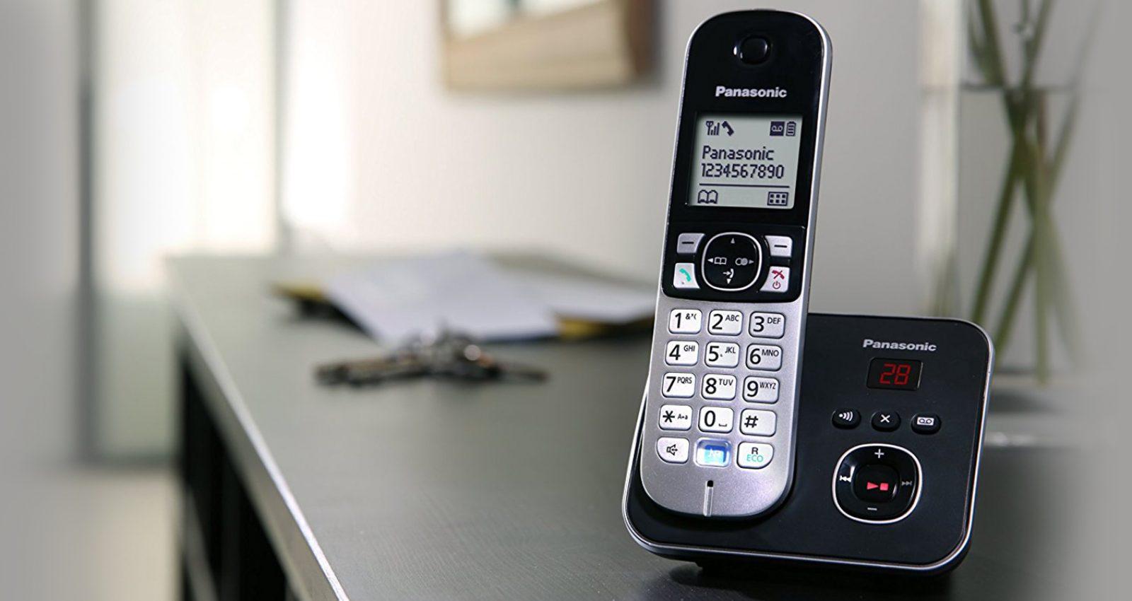 بنر معرفی محصول تلفن بيسيم پاناسونيک مدل KX-TG6821