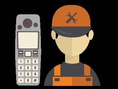 تعمیر تلفن های بیسیم