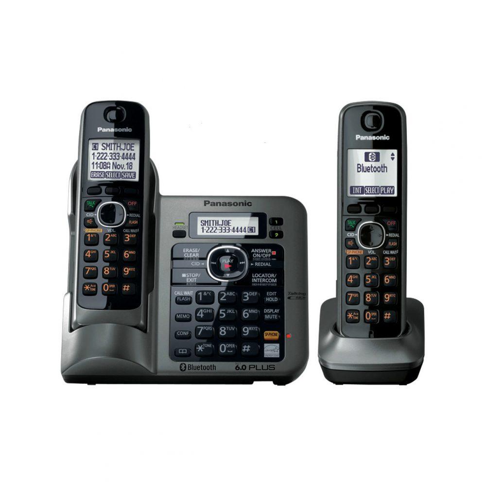 تلفن بیسیم پاناسونیک مدل Panasonic-KX-TG3822JX ساخت ژاپن-3