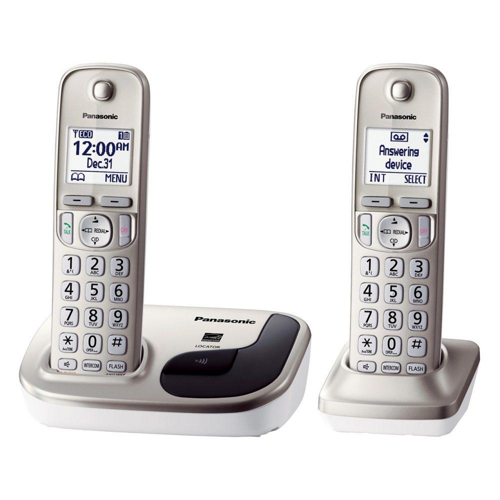 تلفن بیسیم پاناسونیک مدل Panasonic-KX-TGD212-3