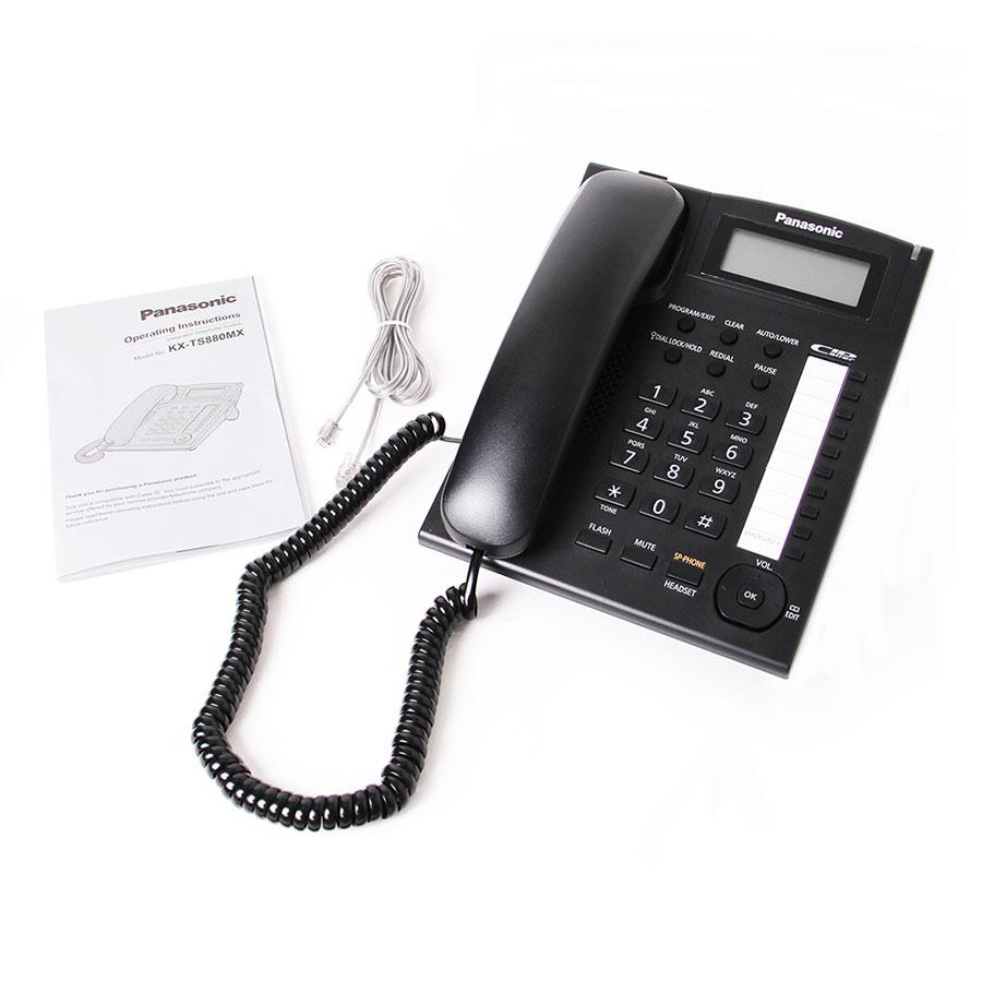تلفن رومیزی پاناسونیک Panasonic KX-TS880MX