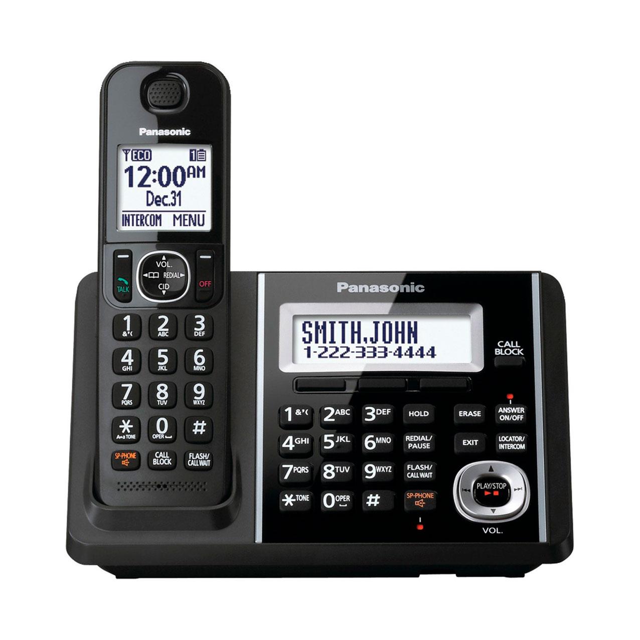 تلفن بیسیم پاناسونیک مدل Panasonic-KX-TGF340 ساخت مالزی سفارش آمریکا