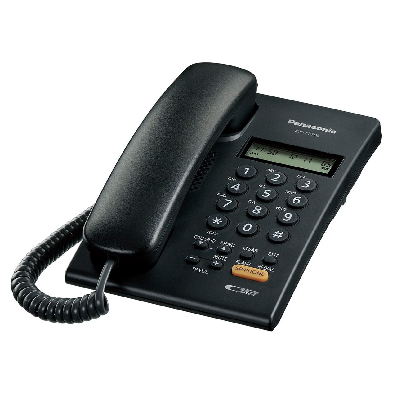 تلفن رومیزی پاناسونیک مدل KX-T7705X